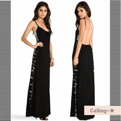 VIP.SALE!! セレブ愛用多数! 【Gypsy05】 Bamboo Knit Cami Maxi LAセレブ御用達ファッションブランドGypsy05(ジプシー05)のマキシワンピースです。   背中が大胆にあいたデザインで大人の雰囲気を演出。