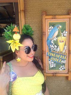 iolani: Disneybound Luau PartyEnchanted Tiki Room & Dole...
