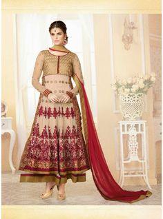 Classy Beige Colour Salwar Suit   Sy127015004
