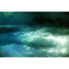 Ivan Aivazovsky - Among the Waves (1898)