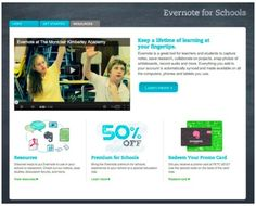Evernote en español, Sitio web Evernote for Schools: Recursos para usar Evernote en educación | Evernote Corporation