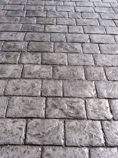 Image result for driveways stencil colours dark grey