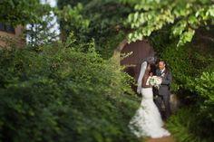 Cute couple wedding portrait