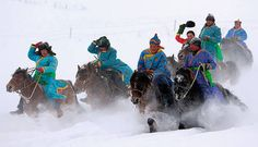 The nomadic tribes of southern Siberia