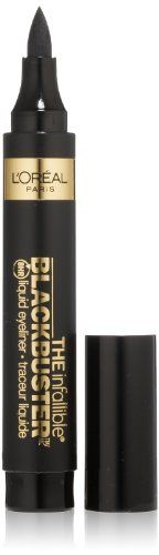 L'Oreal Paris The Blackbuster Eyeliner by Infallible, 0.084 Ounces L'Oreal Paris,http://www.amazon.com/dp/B00F4VX9G2/ref=cm_sw_r_pi_dp_WTQCtb05Y4N49MPG