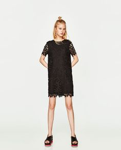 SHORT LACE DRESS - Available in more colours