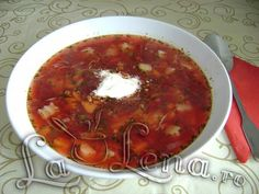 Bors cu sfecla rosie(ca la Suceava) Romanian Recipes, Romanian Food, Supe, Pastry Cake, Chili, Salsa, Cakes, Ethnic Recipes, Patisserie Cake