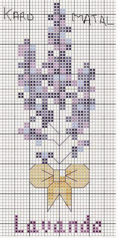 Ricami, lavori e schemi a puntocroce gratuiti: Cross stitch free patterns-Schermi con fiori, facilissimi