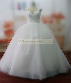 Real Samples Vintage Ball Gown Wedding Dresses by iViWeddingDress