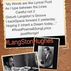 #LangStonHughes #poet #HarlemRenaissance #Icon #writer #inspiration #poetronigirl #RoadPoems&SongLyrics #CollagePoetry #CollagePoetri #poetri #poetry LangstonPoems #DreamDeferred #HarlemSweeties #TheWearyBlues #griot #playwright #author #lyrics #words #wordWeaver
