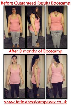 Well done Katie Stewart on this amazing 8 month transformation! http://www.fatlossbootcampessex.com/