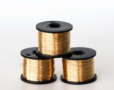 2180_Light silver wire 16 gauge, Jewelry wire 1.25 mm, Soft wire ...