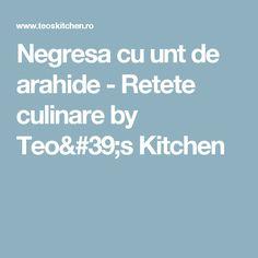 Negresa cu unt de arahide - Retete culinare by Teo's Kitchen