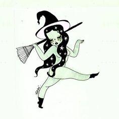 cute drawings of love Illustrations, Illustration Art, Stoner Art, Flash Art, Halloween Art, Halloween Drawings, Vintage Halloween, Objet D'art, Pastel Goth