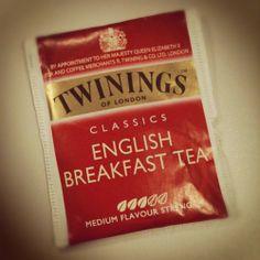 English Breakfast Tea favourite tea of Anastasia Steele.
