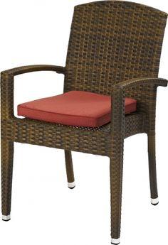 Outdoor Lounge Sessel Favori stapelbar burned mit…