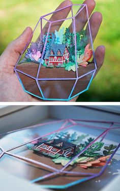 Paper craft by Cameron Garland
