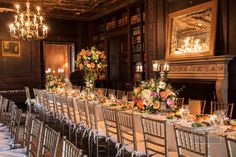 #76 #Yonkers #New York #Wedding #Reception #Tables #Candles #Flowers