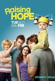 Raising Hope Tv poster Metal Sign Wall Art 8in x 12in