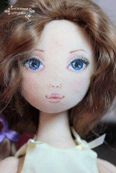 :: Crafty :: Doll :: Мои любимые игрушки. Авторские текстильные куклы Анны Балябиной: Серена. Процесс и результат.