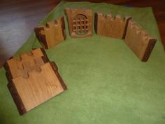 Waldorf Kinderkram Castle Walls and Jailhouse | eBay