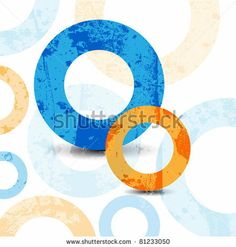 abstract high-tech graphic design circles pattern background by file404, via Shutterstock