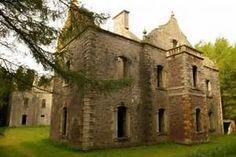 Carmichael Castle, Carmichael, Lanarkshire, Scotland