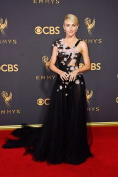 TV personality Julianne Hough attends the 69th Annual Primetime Emmy Awards.