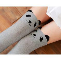 Bear / Panda high socks
