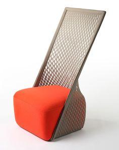 Surprising Hammock-Chair Fusion by Benjamin Hubert: Cradle