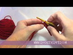 Single Crochet For Beginners Tutorial - Deja Jetmir, Crochet Ever After Beginner Crochet Tutorial, Crochet Tutorials, Crochet Videos, Crochet For Beginners, Crochet Projects, Crochet Quilt, Crochet Stitches, Knit Crochet, Tejidos