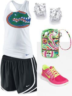 """""""Workout outfit!"""" by sparkleshoe on Polyvore"""