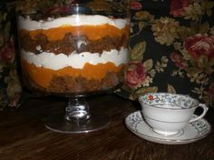 Pumpkin Gingerbread Trifle from Food.com: I make this every year and it's always a hit. #ultimatethanksgiving