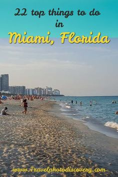 Top things to do in Miami, Florida Here are 22 top things to do in Miami and Miami Beach l Miami attractions, neighborhoods & fun activities l What to do and see in Miami, Florida l Tips on visiting Miami and Miami Beach l Check out more details here http Visit Florida, Florida Vacation, Florida Travel, Miami Florida, Florida Beaches, Travel Usa, Florida Keys, South Florida, Miami Beach