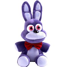 New Arrivals Five Nights At Freddy's 4 FNAF Bunny Bonnie Plush Toys Doll 10""