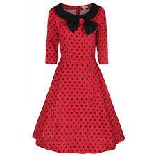 LINDY BOP 'CASSY' BOW VINTAGE 1950's PARISIAN STYLE SWING PARTY DRESS