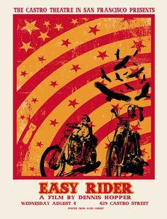 Love This : Alien Corset - David O'Daniel Easy Rider Dennis Hopper Movie Poster Action Movie Poster, Movie Poster Frames, Movie Posters For Sale, Movie Poster Art, Film Posters, Biker Movies, Cult Movies, Indie Movies, Easy Rider