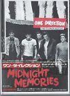 Midnight Memo by One Direction (2013 Ult. Ed  7 BONUS Trks Japan CD/DVD)