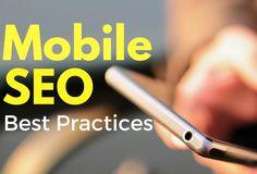 Mobile SEO  Simple tips to optimize your website #digitalmarketing