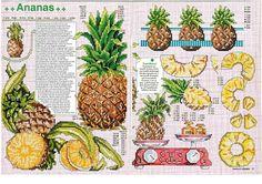 Pineapple cross stitch