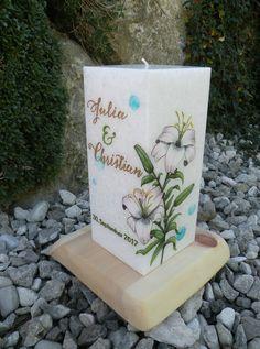 #hochzeitskerze #hochzeit #candles #love #handmade #unikat Planter Pots, Wedding Day, Candles