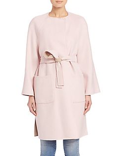 Weekend Max Mara Galena Reversible Virgin Wool Wrap Coat                                                                                                                                                     More