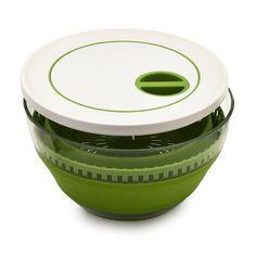 Progressive Collapsible Salad Spinner | Sur La Table
