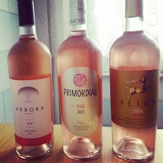 Today we compared three different rosé #wine from Romania. Freshness and delicate strawberries from Alira rosé (at the right) have definitely conquered our heart!  #winelove #winelover #wineeveryday #winetime #instawine #winesnob #wineporn #cultoridelvino #vino #wein #vinho #vin #Romania #taste #winetaste#winetasting #rosewine