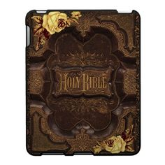 Antique Bible iPad Covers