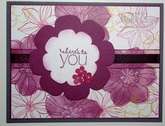 Stencil Fun with Secret Garden by Marti Crapo - Cards and Paper Crafts at Splitcoaststampers