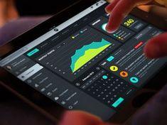Super #Tablet #Dashboard #Ui #design #data