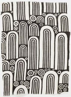 Fabric pattern by Josef Hoffmann, 1910-12