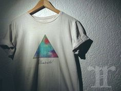 great illuminated colour tshirt by .rare.clothes