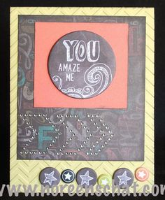 Noreen's Scrap N Chat: CTMH Chalk It Up Card www.noreenschat.com